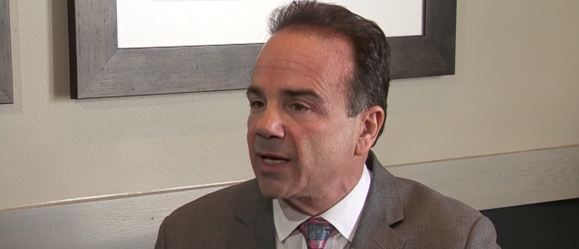 Here is a photo of Bridgeport Mayor Joe Ganim. (Photo: Screen Shot/Youtube)
