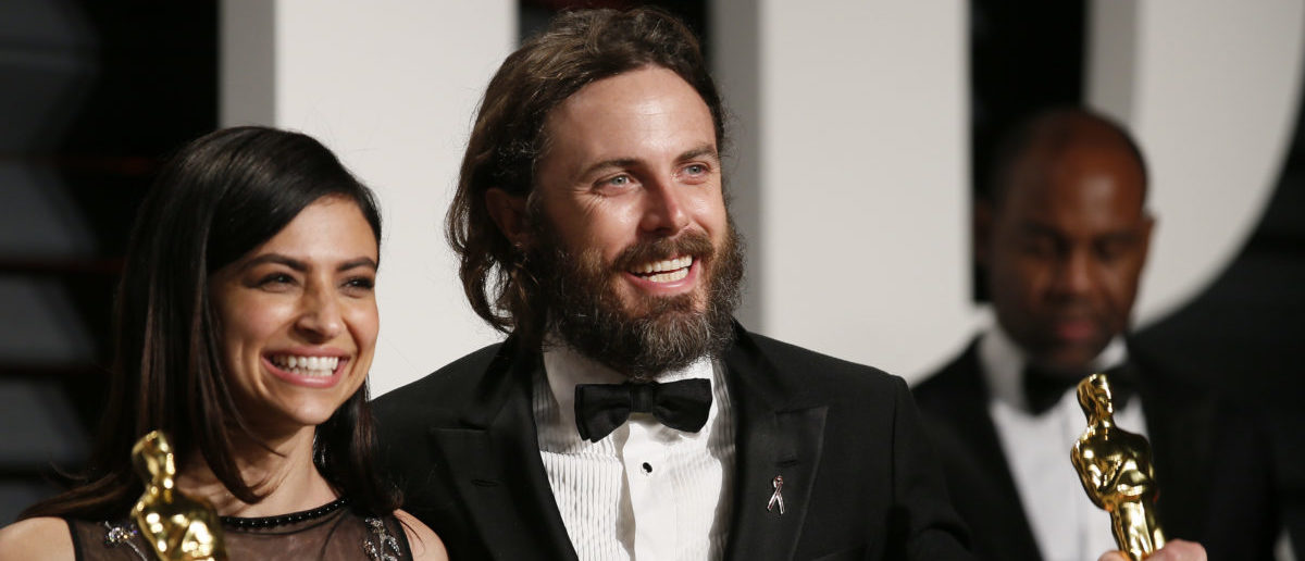 89th Academy Awards - Oscars Vanity Fair Party - Beverly Hills, California, U.S. - 27/02/17 – Floriana Lima and Best Actor winner Casey Affleck for Manchester By The Sea. REUTERS/Danny Moloshok