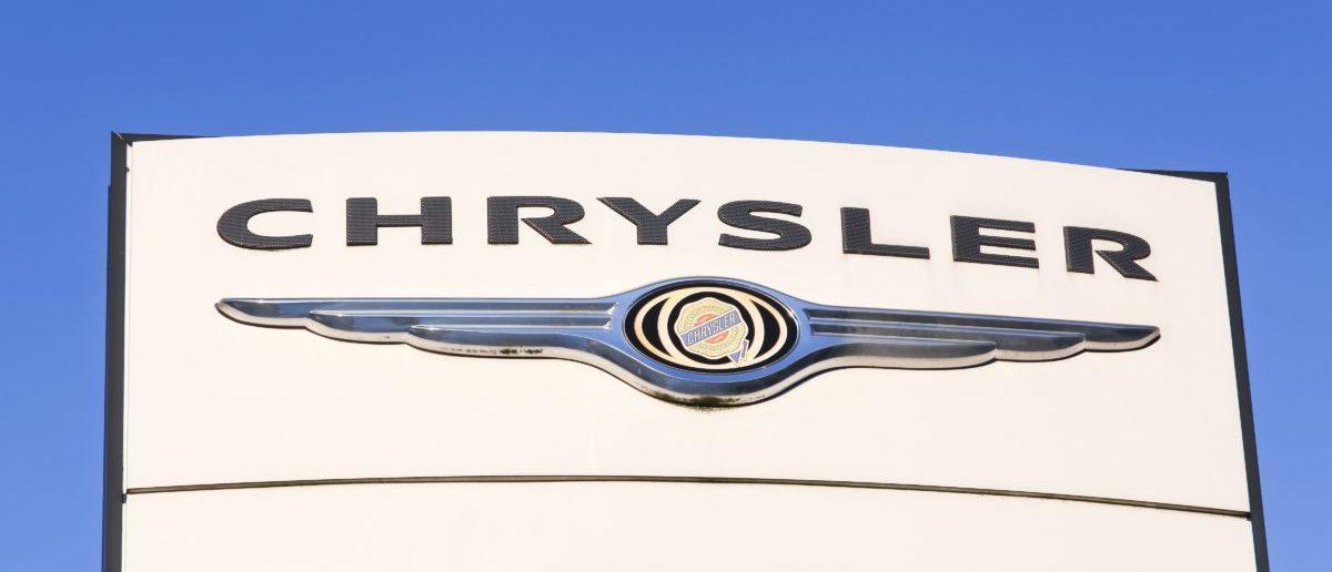 Chrysler Symbol (ShutterStock/Ricochet64)