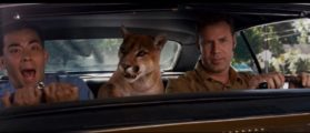 The scene from Talladega Nights where a cougar sits in the car with Will Ferrell as Ricky Bobby and a driving instructor. (Talladega Nights via screenshot)