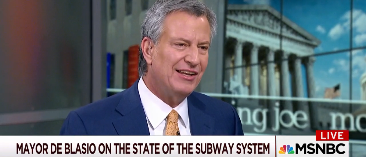De Blasio Wants To Tax Wealthy To Fix NYC Subways - Morning Joe 1-17-18