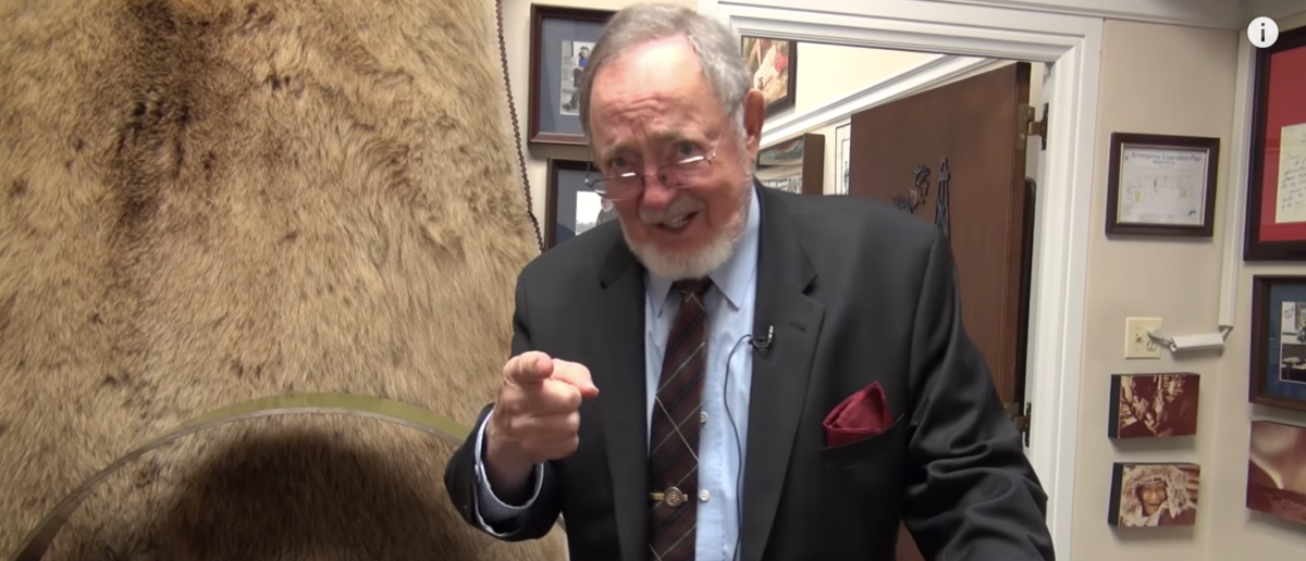 Alaska Rep. Don Young appears on Roll Call's Office Space