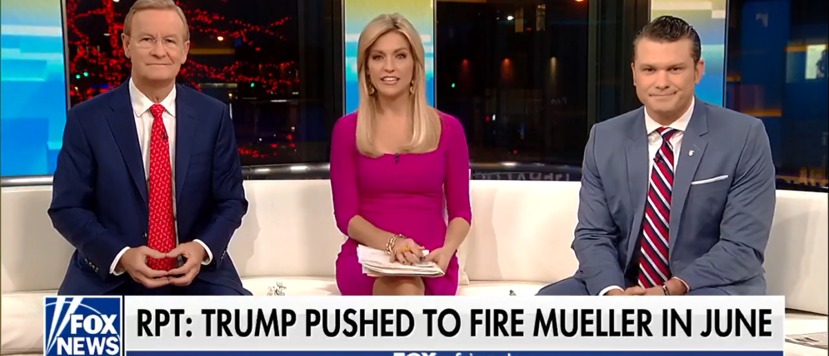 Fox & Friends Slam NYT For Being Out Of Touch 1-26-18 (Screenshot/Fox News)