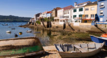 The coastal town of Galicia, Spain, is known for its gastronomical delights with centuries old architecture and stunning beaches every one looks. (Photo: Shutterstock)