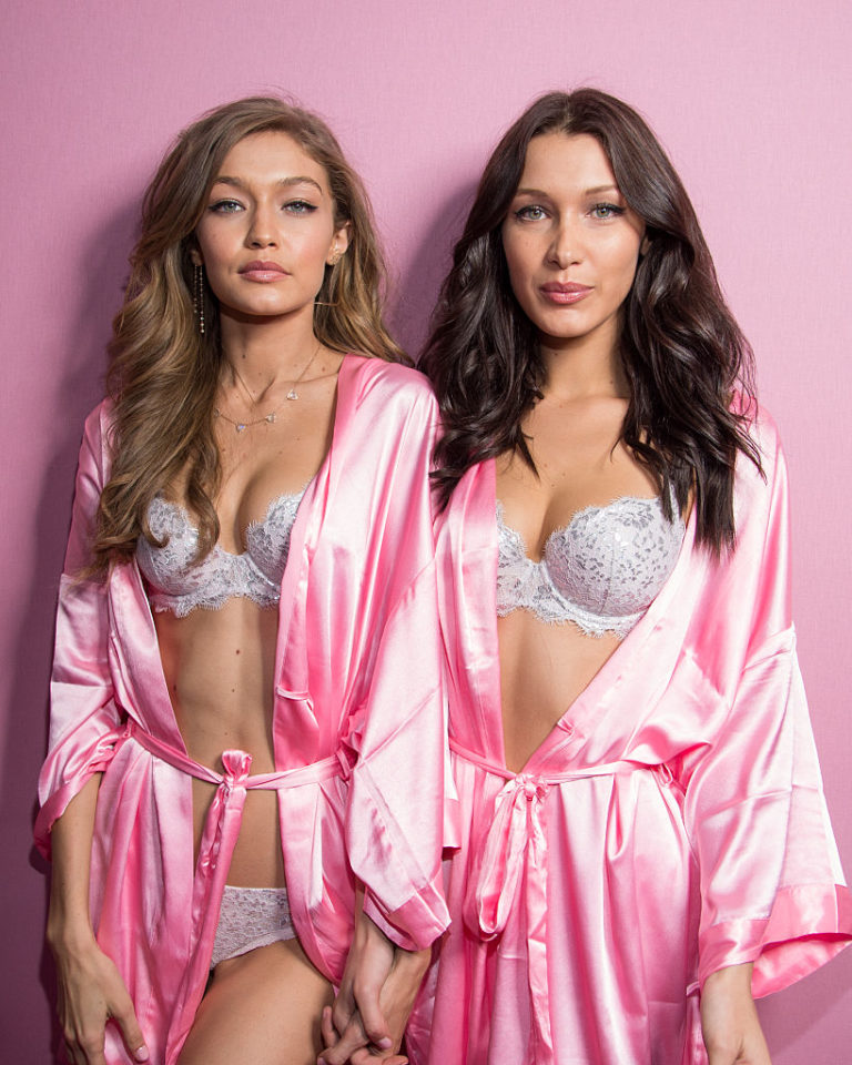 Gigi and Bella Hadid, Naked and Intertwind in Vogue Shoot