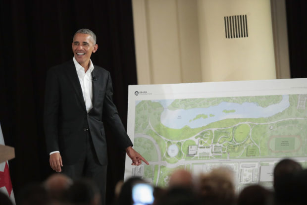 Obama Foundation Submits Formal Plans To City For Presidential Center Construction