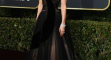Actress Jessica Biel arrives for the 75th Golden Globe Awards on January 7, 2018, in Beverly Hills, California. / AFP PHOTO / VALERIE MACON        (Photo credit should read VALERIE MACON/AFP/Getty Images)