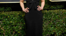 BEVERLY HILLS, CA - JANUARY 07: Emilia Clarke attends The 75th Annual Golden Globe Awards at The Beverly Hilton Hotel on January 7, 2018 in Beverly Hills, California.  (Photo by Frazer Harrison/Getty Images)