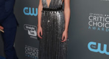 Gal Gadot attending The Critics' Choice Awards last night in Santa Monica, California.  (Photo by Christopher Polk/Getty Images for The Critics' Choice Awards)