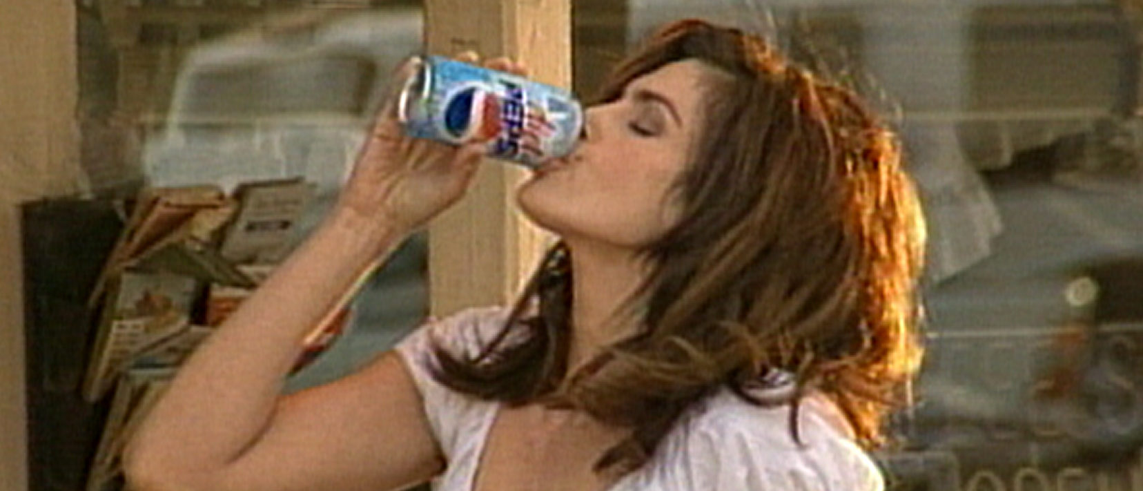 Cindy Crawford. (Photo Courtesy of Pepsi/ Getty Images)