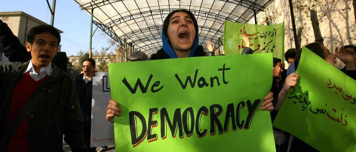 Iran protest AFP/Getty Images