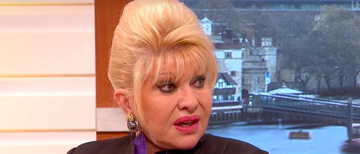 Ivana Trump on Good Morning Britain (YouTube Screengrab/Good Morning Britain)