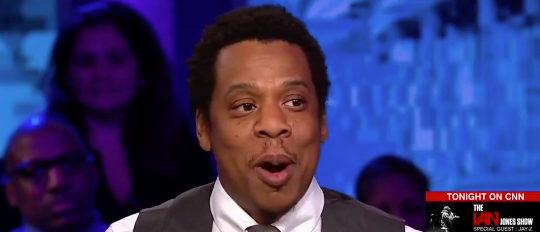 Jay Z CNN screenshot