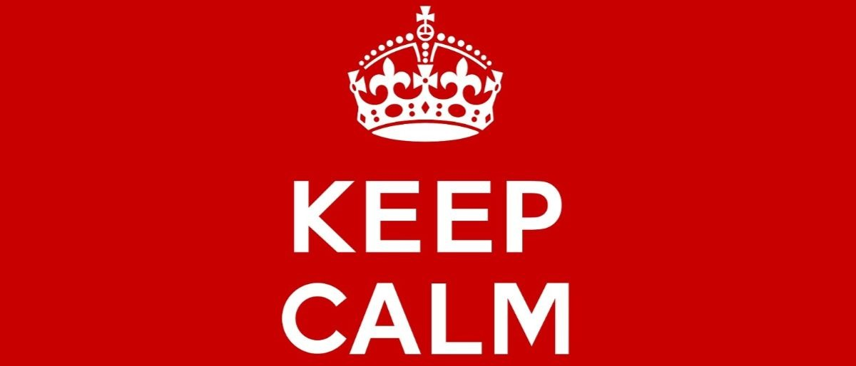 Keep Calm Shutterstock/Ezepov Dmitry