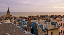 The beautiful harbor town of La Havre, France, celebrated its 500th anniversary last year and is known for its stunning modern architecture. (Photo: Shutterstock)