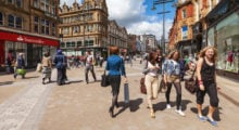 The student city of Leeds in the United Kingdom is known for a thriving night life and a growing economy. (Photo: Shutterstock)
