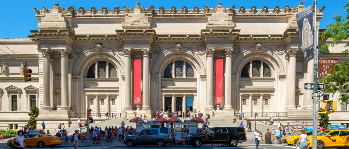 NEW YORK,USA - AUGUST 20,2016 : Here is the Metropolitan Museum of Art in New York City. (Photo: Shutterstock/ Kamira)