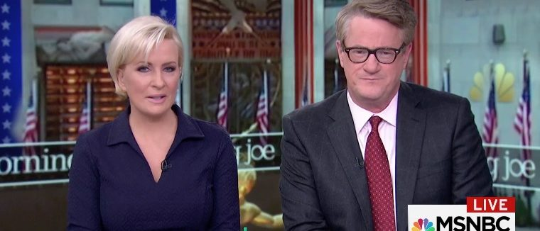 Mika Brzezinski and Joe Scarborough (Photo: Screenshot/MSNBC)