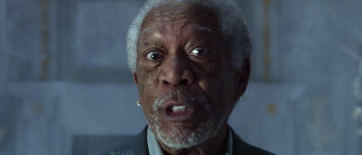 Morgan Freeman (Credit: Screenshot/YouTube Doritos)