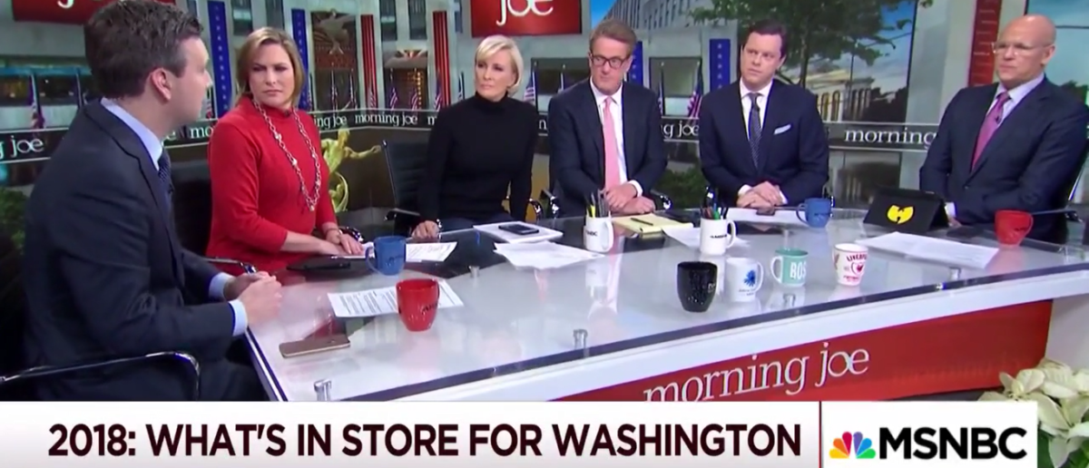 Morning Joe 1-1-18 Josh Earnest says to expect more Roy Moore in 2018. (Photo: Screenshot/MSNBC)
