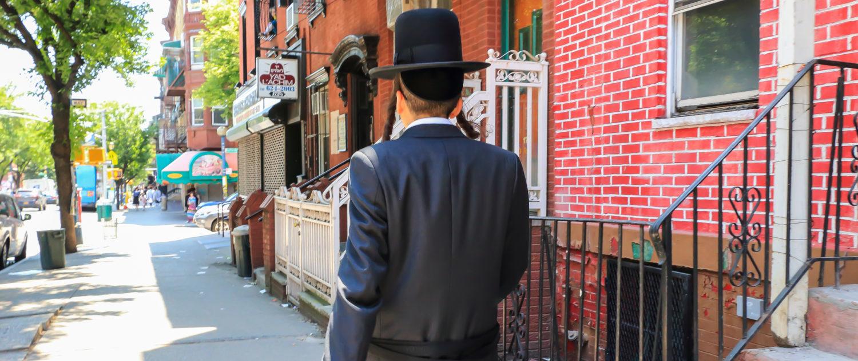 Orthodox Jewish Man (shutterstock/alredosaz)