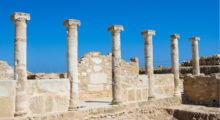 Known as the island of Aphrodite, Paphos, Cyrpus, is still a wonder to behold. With its sun kissed shores covered in historical monuments dating back to the Roman times. (Photo: Shutterstock)