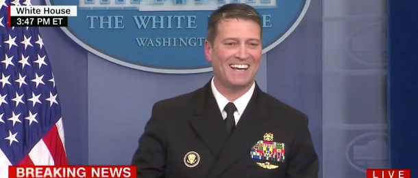 Ronny Jackson CNN screenshot