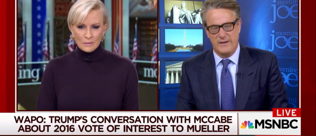 Scarborough Slams Fox News For Calling Out FBI MSNBC 1-24-18