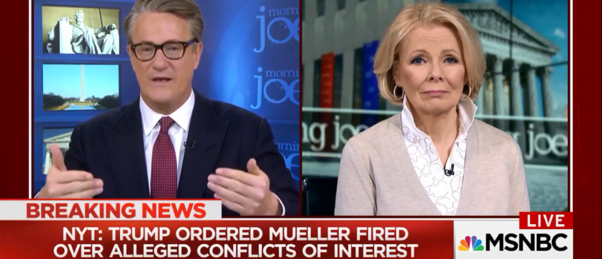 Scarborough Tires To Make the case for obstruction against Trump and fails 1-26-18
