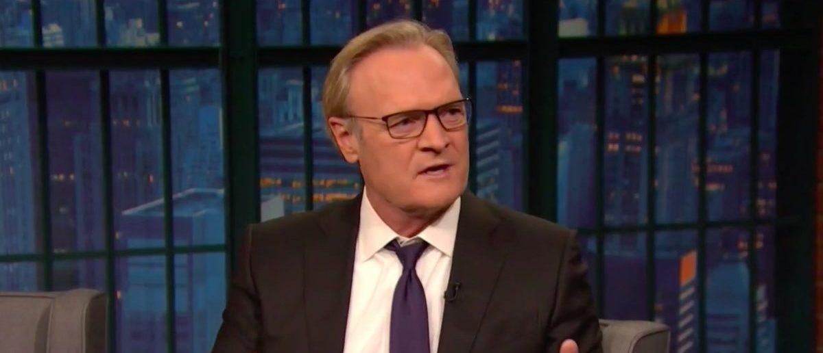 Screenshot Lawrence O'Donnell (MSNBC: Jan 11, 2018)