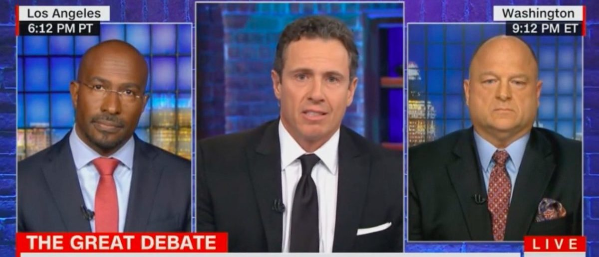 Screen Shot Chris Cuomo (CNN: Jan 15, 2018)