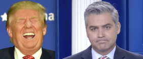 Jim Acosta's Reactions To CNN Getting Fake News Awards From Trump Is Priceless