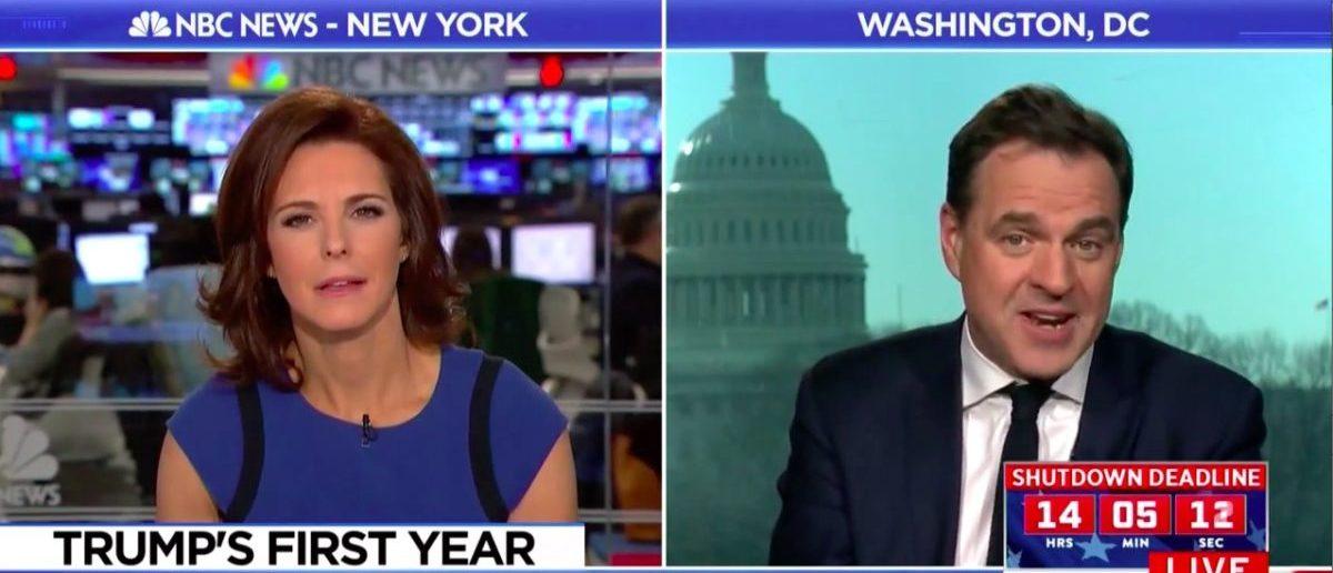 Screen Shot Stephanie Ruhle (MSNBC: Jan 19, 2018)
