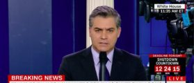 Trump Bestows Brutal Nickname On CNN's Jim Acosta