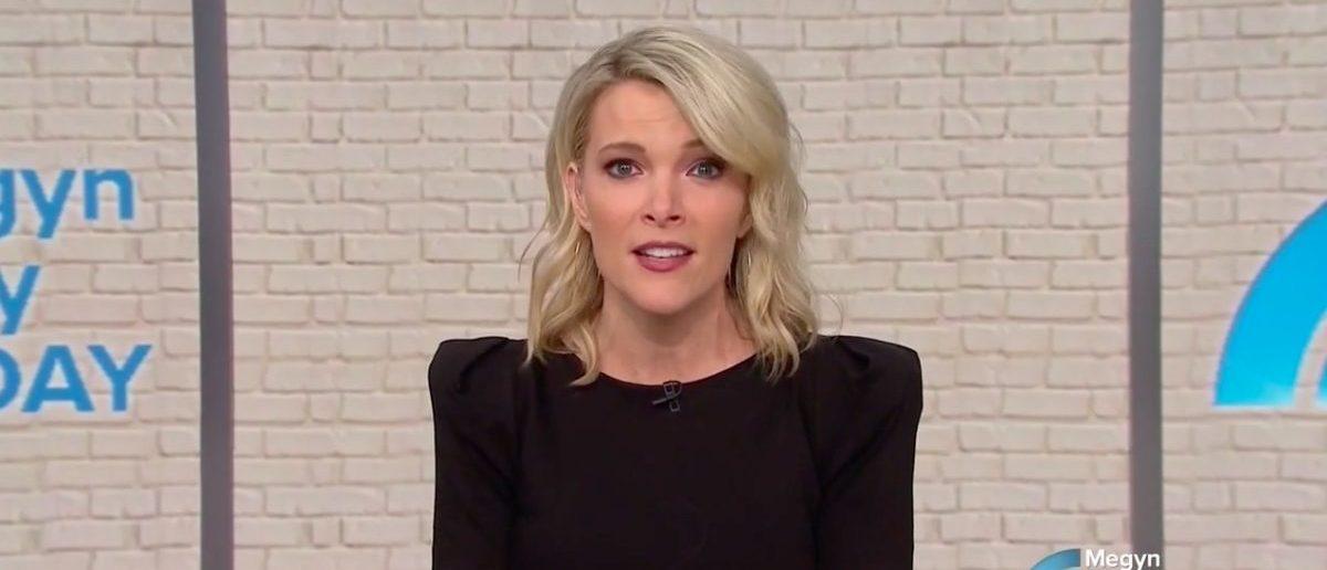 Screen Shot Megyn Kelly (NBC: Jan 22, 2018)
