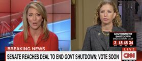 CNN Asks Wasserman Schultz What Was The Point Of The Shutdown — Her Answer Is Stunning