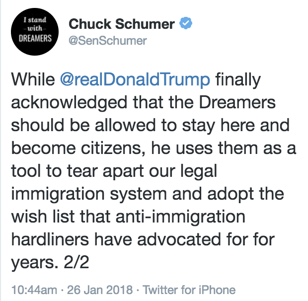 Schumer Attacked Trump's Treatment Of Illegal Immigrants -- So Sarah Sanders Shut Him The Chuck Up