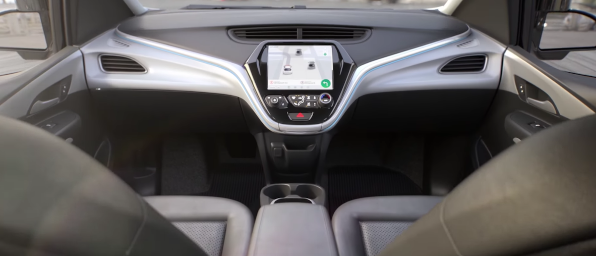 General Motors (GM) has announced it will be making the first mass-produced self-driving car that will come without a steering wheel or pedals. (Photo: Screen Shot/Youtube/GM/Cruise AV Self-Driving Car)