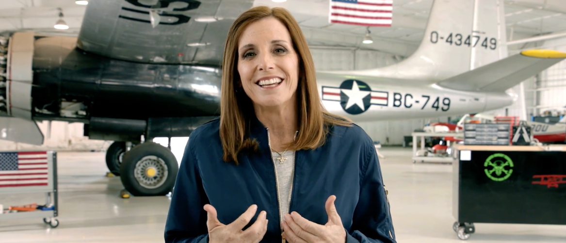 Screen Shot/Youtube/Martha McSally Senate Campaign Announcement Video