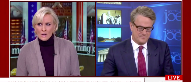 Screenshot MSNBC Mika Joe Jan 17, 2018