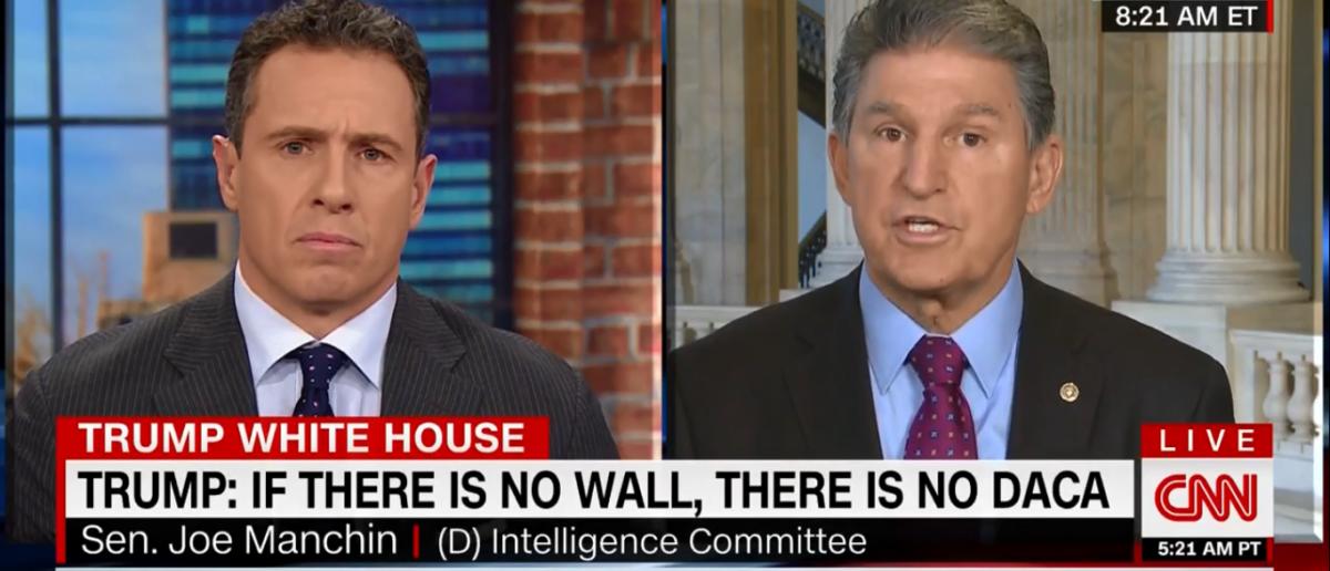 Sen Joe Manchin talks border security on CNN's New Day 1-24-18