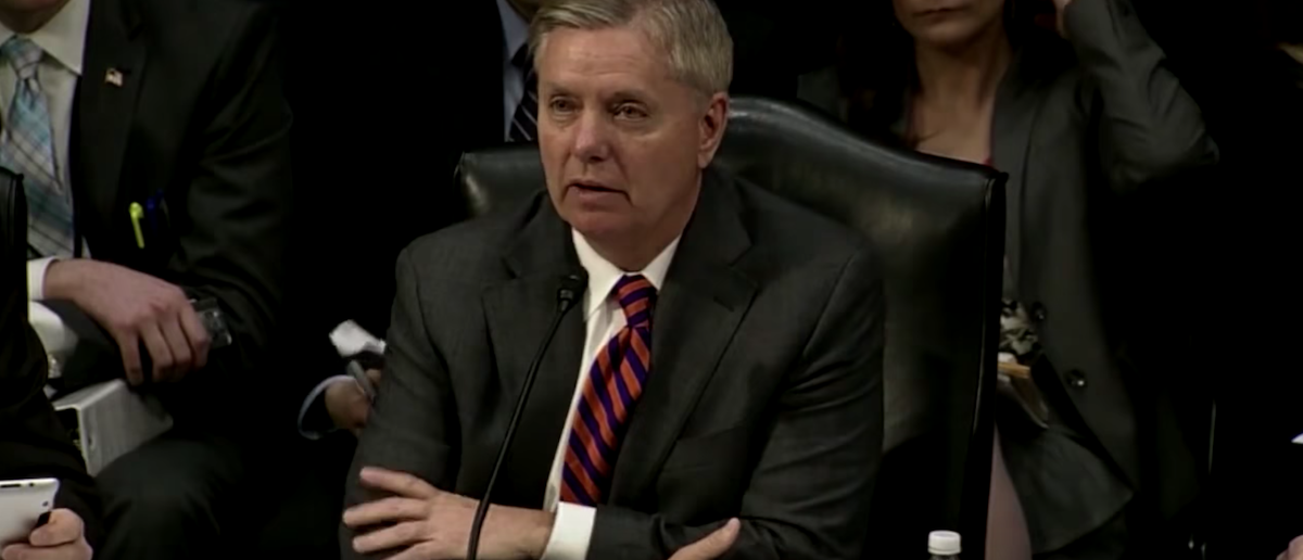 "Senator Lindsey Graham called Mexico a ""Hellhole."" (Photo: Screen Shot/Youtube)"