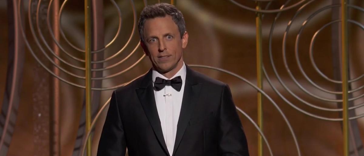 Seth Meyers Golden Globes 2018 Monologue 1-7-18