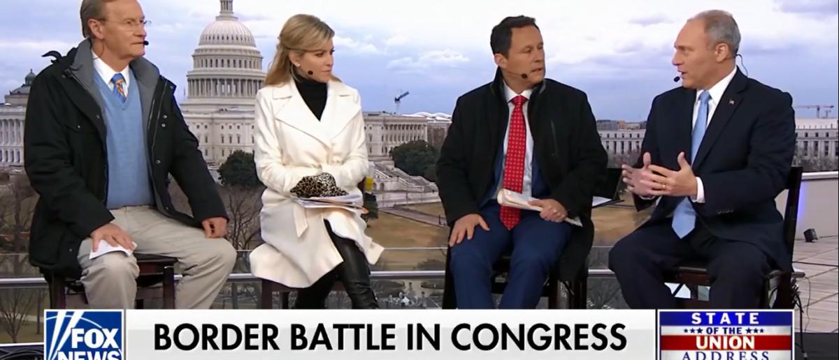 Steve Scalise talks illegal immigration on Fox & Friends 1-30-18 (Screenshot/Fox News)
