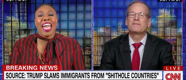 Symone Sanders CNN screenshot