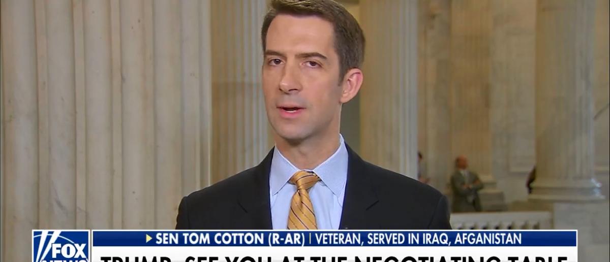 Tom Cotton On Fox and Friends Talking Gov't Shutdown 1-23-18