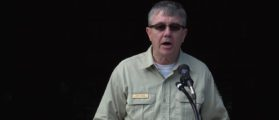 Tony Tooke's U.S. Forest Service swearing in ceremony (Photo: Screenshot/USDA/YouTube)