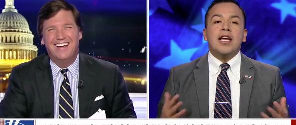 Tucker Vargas Fox News screenshot