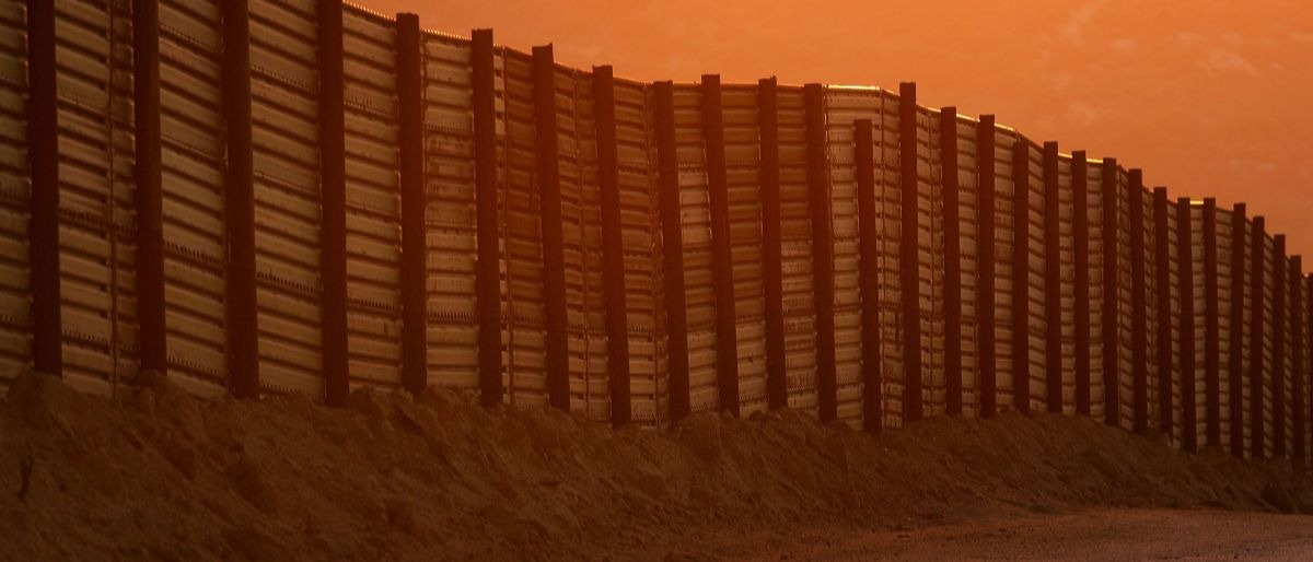USA Mexico border wall Getty Images/David McNew