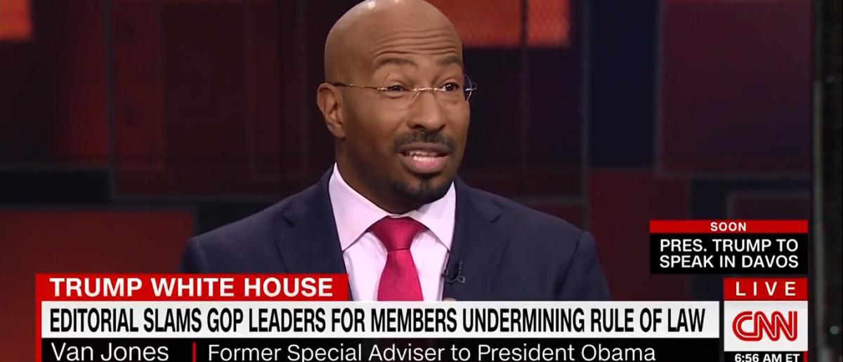 Van Jones Defending FBI On CNN's New Day 1-26-18 (Screenshot/CNN)